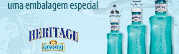 Cascataí lança a água mineral Heritage