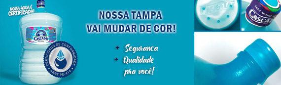 Nova Tampa Cascataí e Certificado ABNT